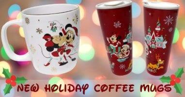 holiday disney mugs