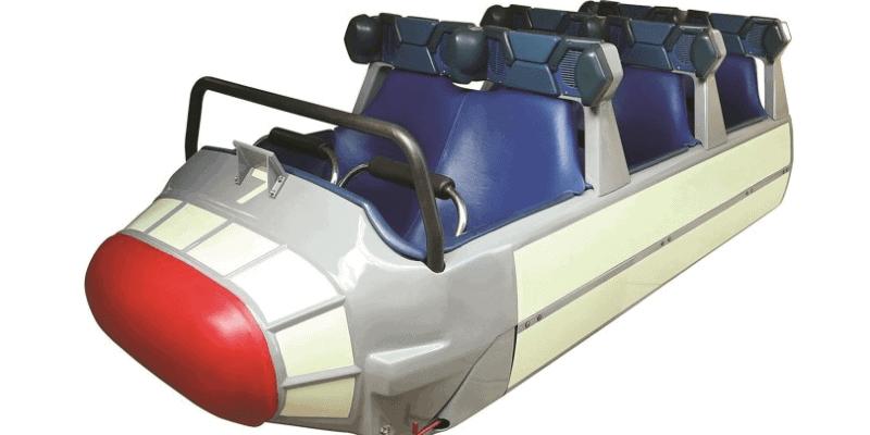 Original Space Mountain Vehicle
