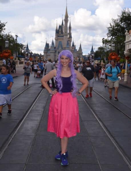 madam mim costumes at magic kingdom halloween party