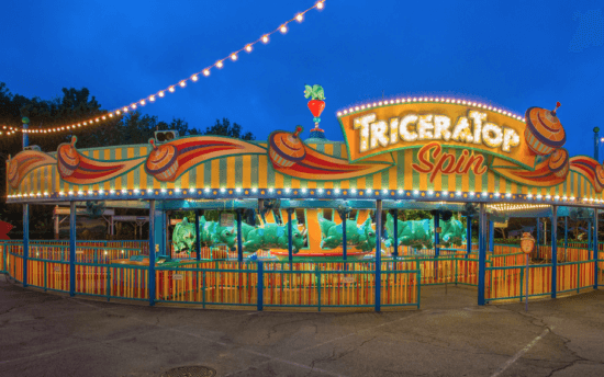 TriceraTop Spin at Animal Kindom's DinoLand U.S.A.