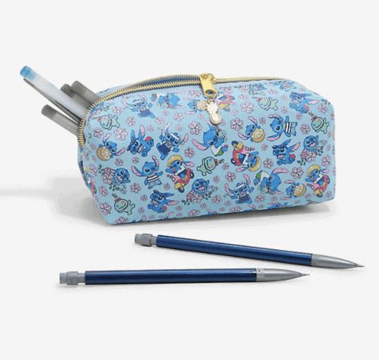 stitch pencil case