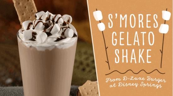 s'mores gelato shake
