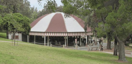 griffith park carousel