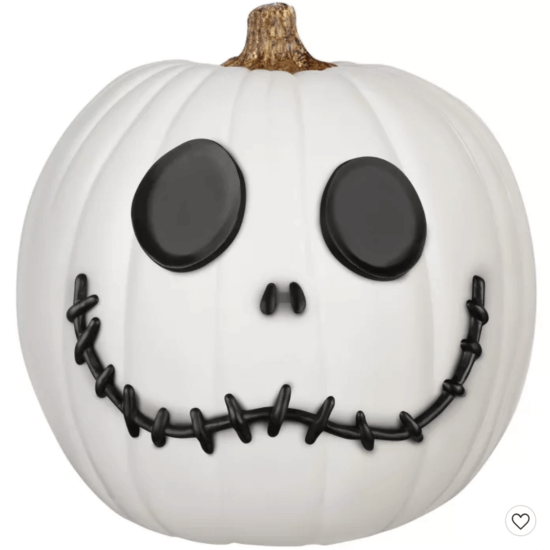 skellington pumpkin kit