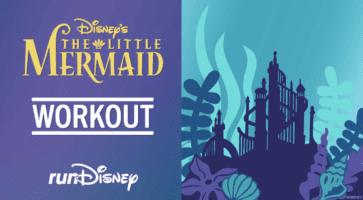 Disney workout rundisney little mermaid header