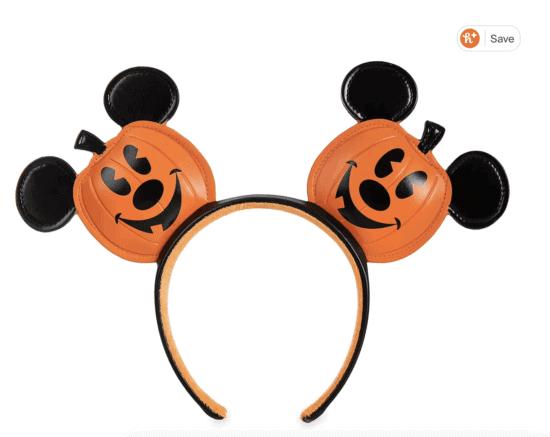 mickey pumpkin headband