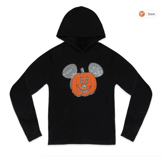 pumpkin mickey sweatshirt