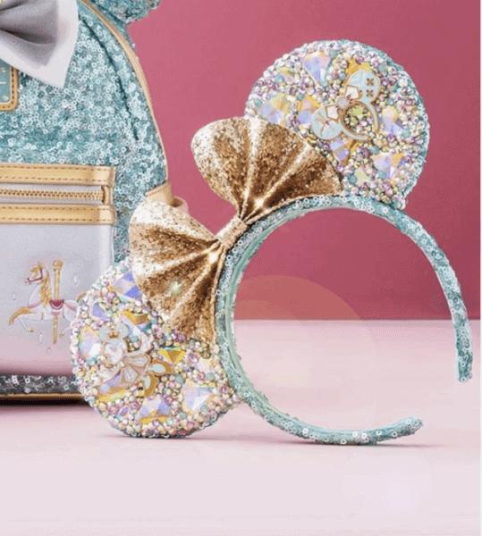 swarovski minnie ears carousel