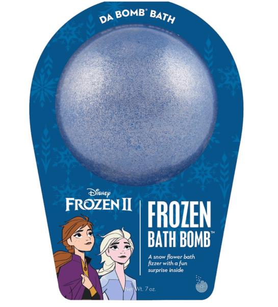 frozen 2 bath bomb
