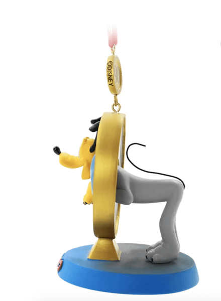 pluto ornament side view
