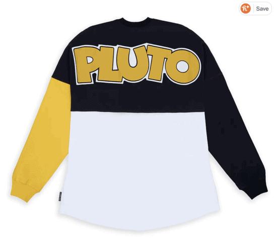 pluto spirit jersey