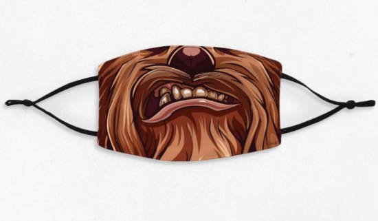 chewbacca face mask