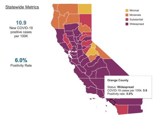 California Tier Map