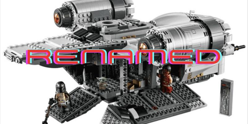 mando renamed lego