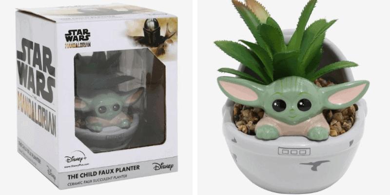 The Child Faux Succulent Planter
