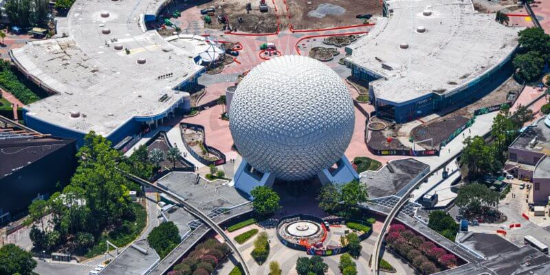 EPCOT aerial image