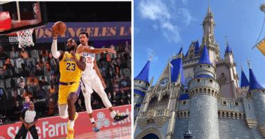 NBA Disney Bubble Testing