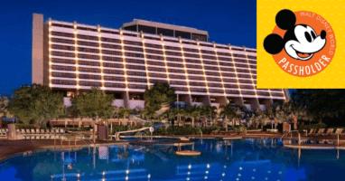 Disney World Annual Passholder Hotel Discounts