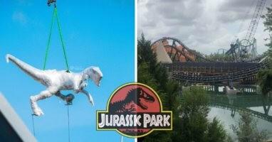 jurassic park coaster