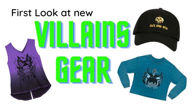 Halloween 2020 First Look Images First Look at Disney Villains Gear for Halloween | Inside the Magic