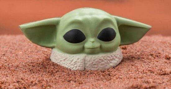 Baby Yoda Stress Ball