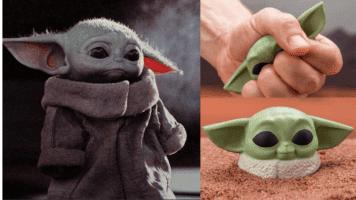 Yoda stress ball