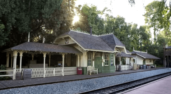 new orleans square disneyland railroad