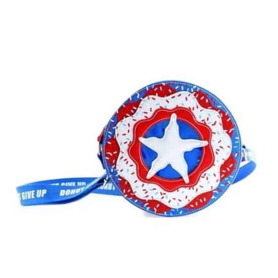 Captain America donut bag