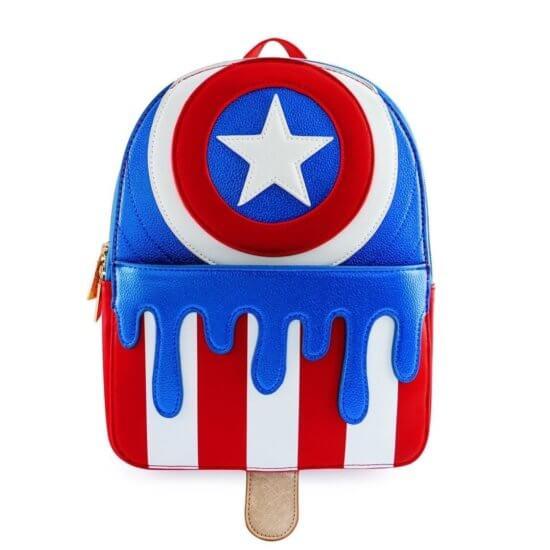 Captain America popsicle bag