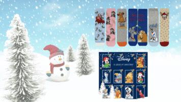 Disney sock calendar