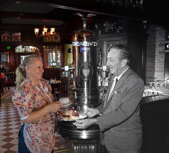 walt disney cafe orleans coffee