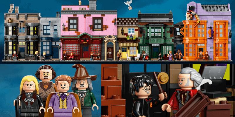 Diagon Alley LEGO set