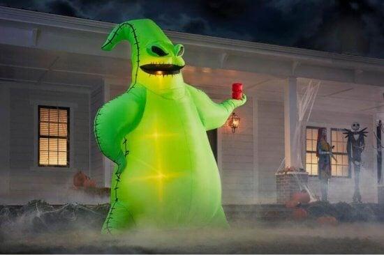 Oogie Boogie Halloween Inflatable