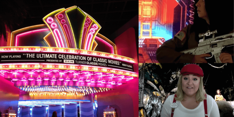 The Great Movie Ride Cast Recreation