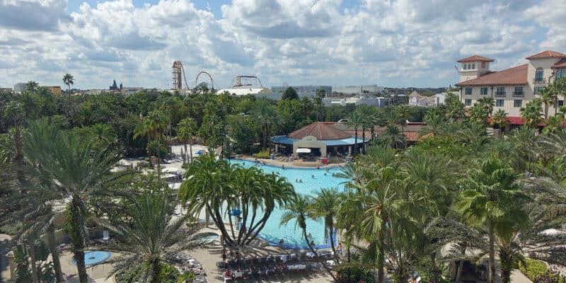 hard rock hotel pool universal orlando