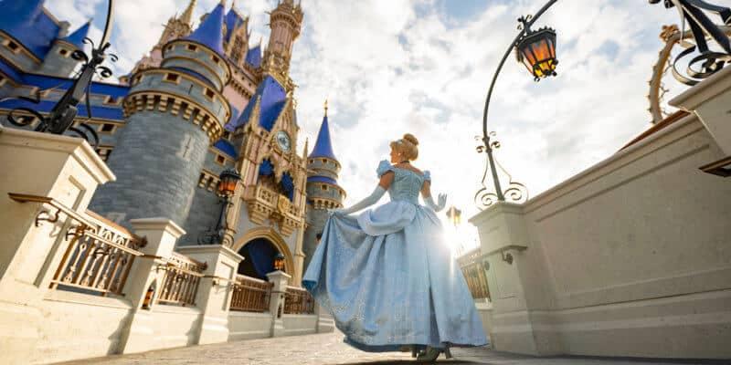 Cinderella Castle Changing Colors
