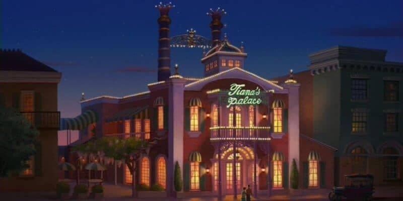 Disney Princess and the Frog Restaurant