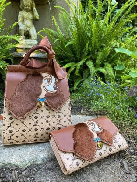 Lady and the Tramp bag and wallet
