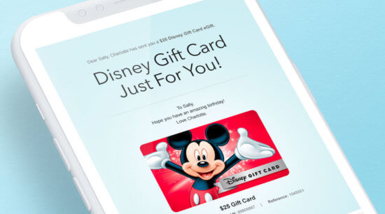 Walt Disney World Gift Cards