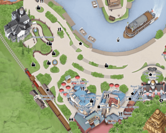 new orleans square map