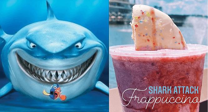 shark attack frappuccino