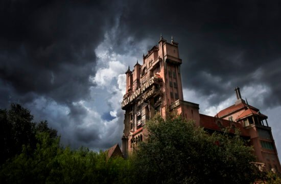 Tower of Terror stormy sky