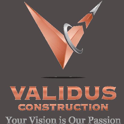 Validus construction logo