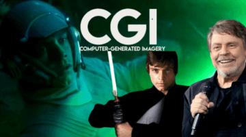 Mark Hamill CGI Luke