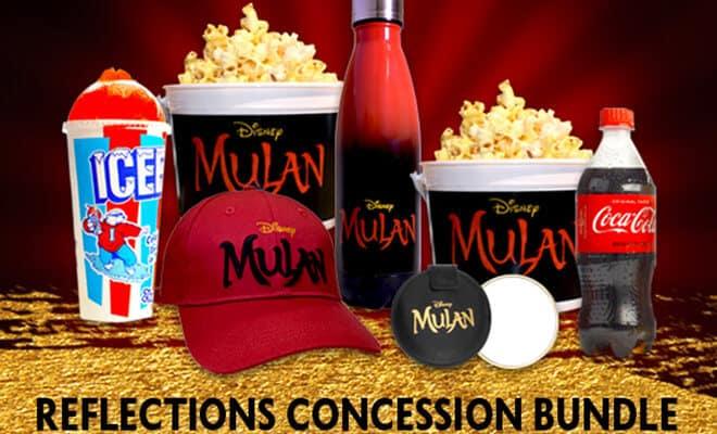 Specialty Mulan Concessions at The El Capitan Theatre