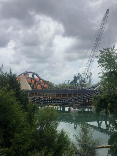 New Coaster Complete at Universal's Islands of Adventure
