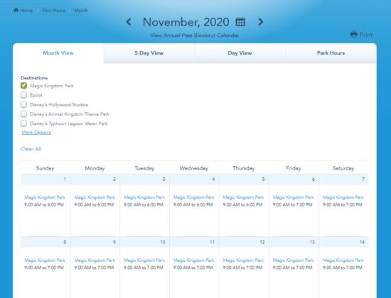 Walt Disney World hours extended