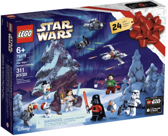 LEGO Star Wars Christmas calendar