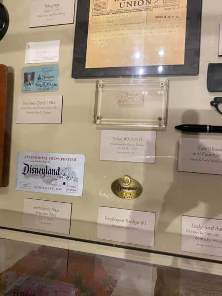 first disneyland employee badge