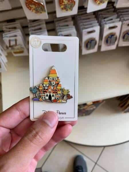 Castle Halloween Pin